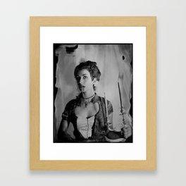 Candelabra - 8x10 Tintype Photo Framed Art Print