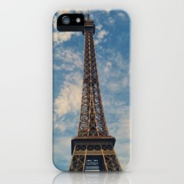 Eiffel Tower, Paris (Portrait) iPhone Case