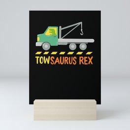 Towsaurus Rex Mini Art Print