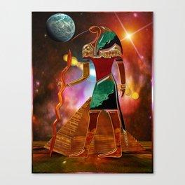 Ancient Secrets THOTH 3D Scifi Egyptian Canvas Print