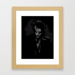 32- Joker ...ultimate villain Framed Art Print