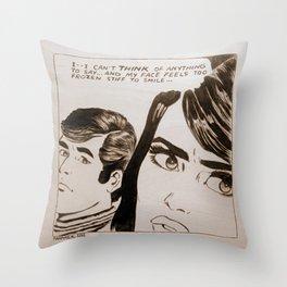 Pop-Art Comic 1 Throw Pillow