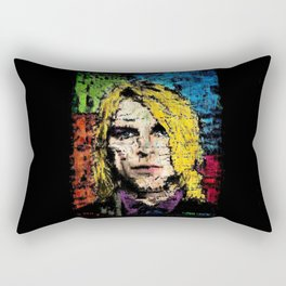 Nevermind Kurt  Rectangular Pillow