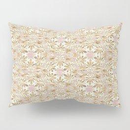 Gilded Tissue Anthemion Pillow Sham