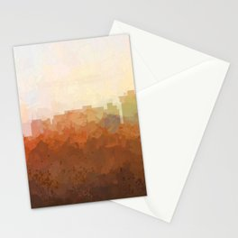 Newport News, Virginia Skyline- In the Clouds Stationery Cards