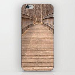 Cunningham Forest Bridge iPhone Skin