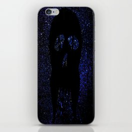 """Fangs"" Blue iPhone Skin"