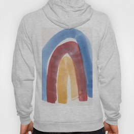 8 | 1903016 Watercolour Abstract Painting | Abstract Arch Hoody