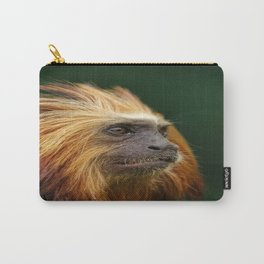 Golden Headed Lion Tamarin Profile Carry-All Pouch