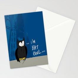 Bat Owl ... Stationery Cards