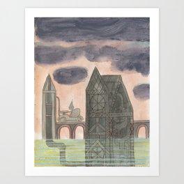 Crystal City 06-04-10a Art Print