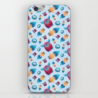 90s iPhone & iPod Skins featuring Sweet 90s by Ana Makes Art
