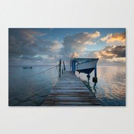 lagoon #1 / Fakarava atoll, French Polynesia Canvas Print