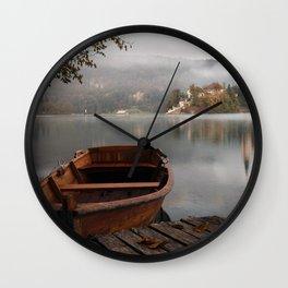 Bucolic landscape Wall Clock