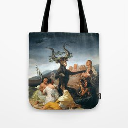 THE SABBATH OF THE WITCHES - GOYA Tote Bag