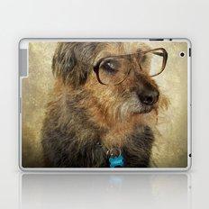 Hipster Dog Laptop & iPad Skin