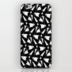 Black and white Eyecatcher iPhone & iPod Skin