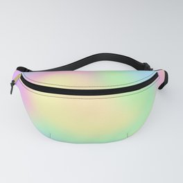 Soft Pastel Rainbow Gradient Design! Fanny Pack
