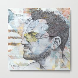 Bono - I Still Haven't Found What I'm Looking For Metal Print