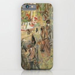 Kida Kinjiro - Port Iwanai (1955) iPhone Case