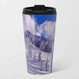 Oregon Winter Scenery Travel Mug