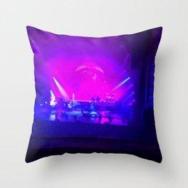 Dark Side Of Moon Concert Throw Pillow