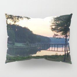 Sunrise Over the Bridge Pillow Sham