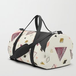 Rhombus&Palms #society6 #decor #buyart Duffle Bag