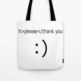 service message Tote Bag