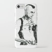 taxi driver iPhone & iPod Cases featuring Taxi Driver by Art & Ink