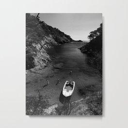 hide beach Metal Print