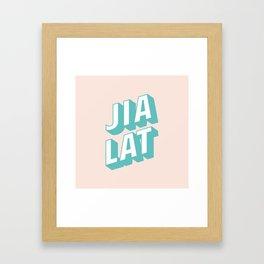 JIA LAT Framed Art Print