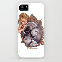COME BACK OR LEAVE By Davy Wong iPhone Case