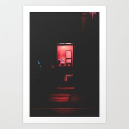 Night Calls Art Print