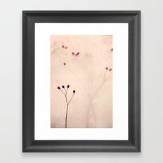 incontro Framed Art Print