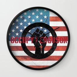 Occupy Ferguson Wall Clock