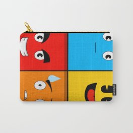 Pacman & Ghosts Carry-All Pouch