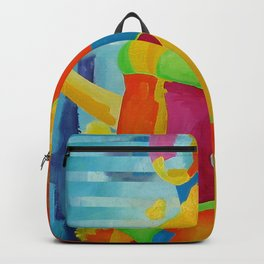 Portrait Girl Backpack