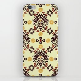 Tribal African mask ethnic iPhone Skin