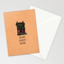 Home Sweet Home Quotes Stationery Cards