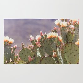 Prickly Pear Blooms I Rug