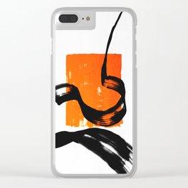 LXP Zen Square Clear iPhone Case
