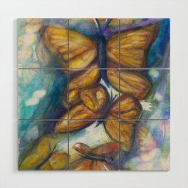 Shaded Wings Wood Wall Art