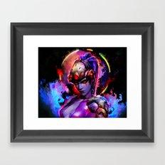 Quiet Widow Framed Art Print