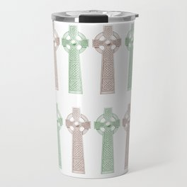 Celtic Crosses Travel Mug