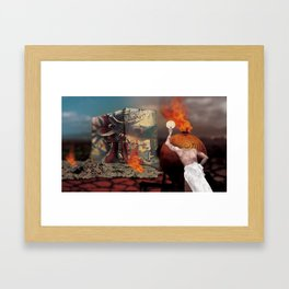 But I Still Have Time! Framed Art Print