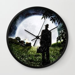 The Little Observer Wall Clock