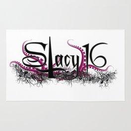 Stacy 16 logo White Rug