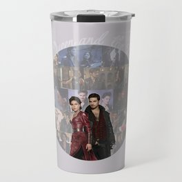 The Queen and the Pirate Travel Mug