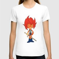 thundercats T-shirts featuring Lion-o by Christophe Chiozzi